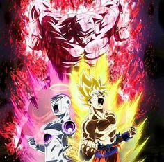 Saga Dragon Ball, Db Z, Goku, Freezer, Kai, Lion, Anime, Geek Stuff, Dragons