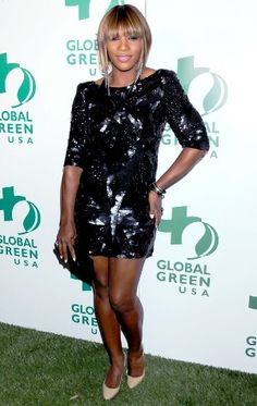 Serena Williams' off the court style is just as flashy as her tennis getups.