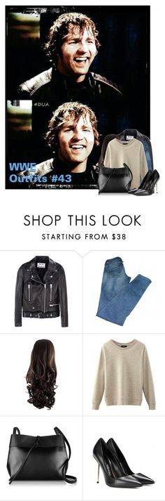 """WWE Outfits #43"" by annacrystal ❤ liked on Polyvore featuring Acne Studios, Kara, Tom Ford, WWE, outfits, SHIELD and DeanAmbrose"