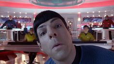 Star Trek: The Compendium - Star Trek Into Darkness Gag Reel #startrek #funny