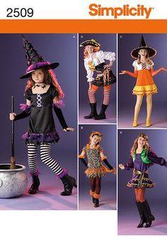 dress up costume patterns