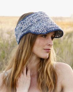 Sun Visor Women Summer visor Beach visor Golf visor Tennis visor Sport visor hat Crochet Headband Brim visor hat Straw visor Floppy visor