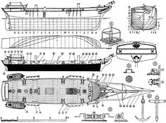 Top View, Sailing Ships, Diagram, How To Plan, Vehicle, Models, Astronomy, Ships, Log Projects