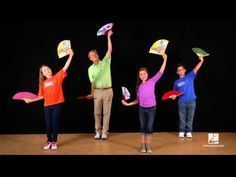 """John Jacobson shows us how to dance to """"Arirang"""" arranged by John Higgins and featured in the March/April 2013 issue of Music Express Magazine, www. Movement Activities, Music And Movement, Music Activities, School Songs, School Videos, Dance Lessons, Music Lessons, Music Express Magazine, Thinking Day"""