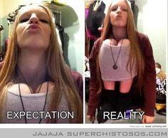 Expectativa y realidad