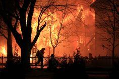 urbana fire - edgewood street