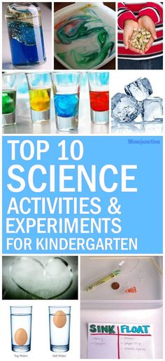 Top 25 Science Experiments For Kindergarten And Kids : So, if you would like to try a few science experiments for kindergarten and young kids, read our post below: These fun activities are perfect for kids to learn and enjoy science. #kids #science  #scienceexperiments  #kidshealth #parenting #kidsstuff
