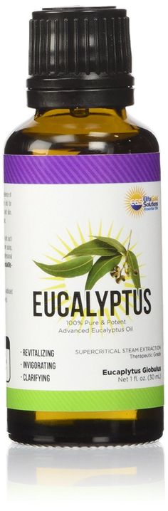 Organic Eucalyptus Essential Oil Pure Steam Extraction - Organic Eucalyptus Globulus Oil *** Additional details at the pin image, click it aromatherapy essential oils Therapeutic Grade Essential Oils, Pure Essential Oils, Eucalyptus Essential Oil, Aromatherapy Oils, Pin Image, 100 Pure, Feel Good, The 100, Essentials
