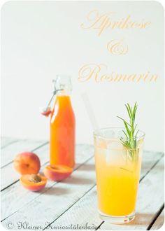 Apricots and rosemary syrup - Rezepte Einkochen - Obst Kefir Benefits, Organic Yogurt, Kefir Recipes, Fresh Coffee Beans, Kombucha How To Make, Kombucha Tea, Refreshing Drinks, Cocktail Drinks, Cocktails