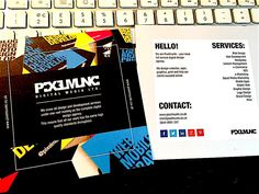 Square Leaflets now available from Pixelmunki. Full colour both sides, 200/300gsm