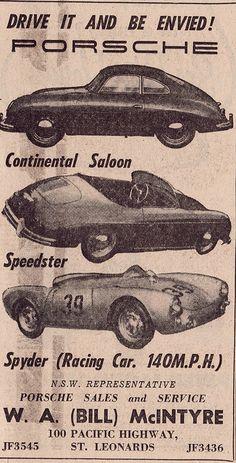 1955 Porsche 256 Ad - Australia