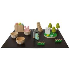 Noodoll x Kiko+ Wooden Magnet Game - Set of 21 Pieces-product
