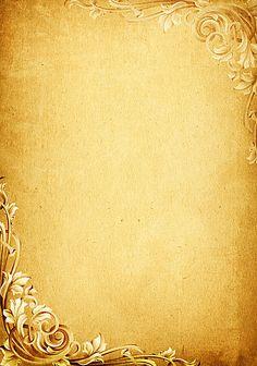 Beautiful gold pattern basemap