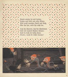 This book for children featuring the poems of August Kopisch is a gem of Jugendstil.
