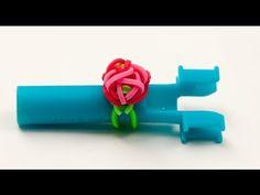 Wie erstelle ich ein Ring mit einer Rose | Rainbow Loom Anleitungen