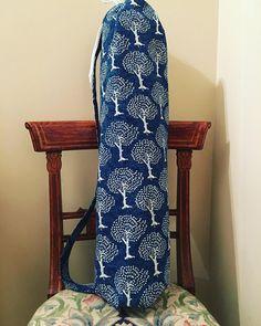 Yoga mat bag, yoga sling, yoga mat carrier, gift for yoga lover, mat bag, Pilates bag, Pilates mat bag, tree of life, yoga mat bag for women