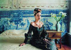 Sibylle Bergemann, Ana Moura, Lissabon, 2006 Surrealism Photography, Berg, Illustration, Jewellery Box, Dresses, Polaroid, Fashion, Favors, Icons