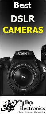 Best DSLR Camera : Tip Top Electronics NZ provides a perfect selection of renowned brands of DSLR with suitable price.