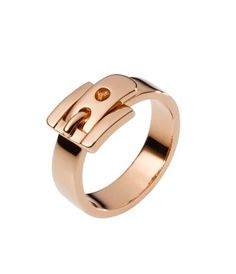 Buckle Ring from MichaelKors ($75) #jewelry