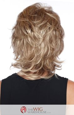 Offered in a number of natural-toned colors, the Angela wig is a darling medium-length shag wig. With a gentle layered flip that offers a number of choices in styling, this wig can take you from dayti More
