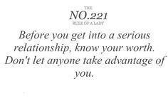 yes, and when I say relationship I mean all types of relationships ... boyfriend, friendship, etc.