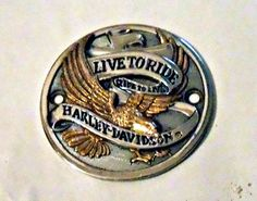 HARLEY MOTOR POINT COVER LIVE TO RIDE SPORTSTER DYNA SOFTAIL ROAD KING E-GLIDE