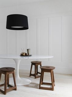 Minimal interior design in london- dining - Eclectic Trends