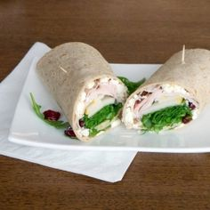 Mix up your brown-bag lunch routine with this healthy and hearty winter wrap sandwich.
