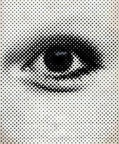 let's modernize the world together: Photo Dots Design, Graphic Design, Ben Day Dots, Iris Eye, Modern Art, Contemporary Art, Ascii Art, Eye Illustration, Field Notes