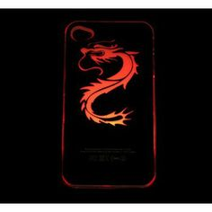 Iphone 4, Iphone Cases, Smartphone, Color Changing Led, Color Change, Dragon, Apple, Products, Bun Hair