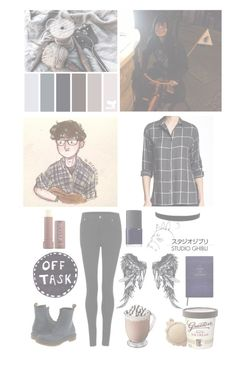 """with cavetown/Robin"" by audrey-panda ❤ liked on Polyvore featuring Stoosh, Cheap Monday, Fresh, Dr. Martens, NARS Cosmetics and Sloane Stationery"