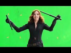 Superheroes Laugh, Curse, & Fumble With Weapons in Captain America: Civil War Gag Reel