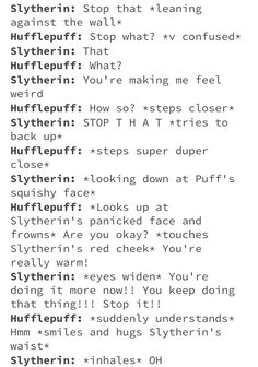 List of all hufflepuff and slytherin images and pictures. Browse latest and popular hufflepuff and slytherin ideas Harry Potter Puns, Harry Potter Marauders, Harry Potter Universal, Harry Potter World, Harry Potter Hogwarts, Slytherin And Hufflepuff, Hogwarts Houses, Book Fandoms, Thing 1