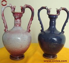 Antique Pottery | Antique Pottery Vase (NCS-003) - China Pottery Vase,Enamel Gifts