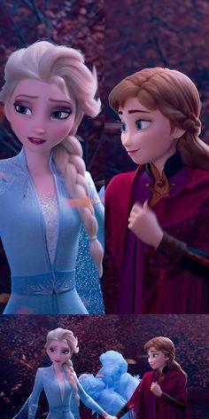 Gale 🍂 Anna ☀️ Elsa ❄️ 8K Wallpaper (Phone + PC below)