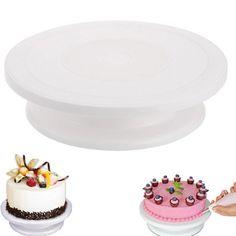 Cake Decorating Tools Rotating Cake Stand Sugarcraft Turntable Decorating Stand Platform Cupcake Stand Cake Plate Tools