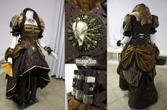 Lady Steampunk Pirate by *Lillyxandra on deviantART
