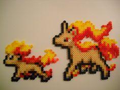 Ponyta and Rapidash (Updated) by RetroNinNin.deviantart.com on @DeviantArt