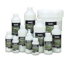 Liquitex Gloss Acrylic Fluid Medium and Varnish, Liquitex Acrylic Paint, Acrylic Resin, Discount Art Supplies, Matte Medium, Palette, Acrylic Pouring Art, Paint Pens, Craft Paint, Painting Process