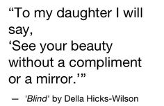 To my daughters...