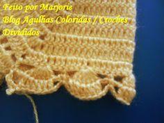 Agulhas Coloridas Croche e Trico: PAP Casaquinho de Croche de BEBE - Feito por Lindinha Crochet Designs, Crochet Patterns, Crochet Bebe, Knitting Stitches, Crochet Projects, Baby, Fashion, Crochet Baby Boots, Crochet Baby Clothes