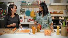 Des chips santé, pourquoi pas! Essayez cette recette facile de chips de carottes et de patates douces de minutes futées. Like Chocolate, Good Food, Fun Food, Veggies, Appetizers, Snacks, Meals, Cooking, Recipes