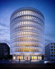 Okrąglak- dawny dom towarowy, teraz jest to nowoczesny budynek biurowy, usługowy i handlowy