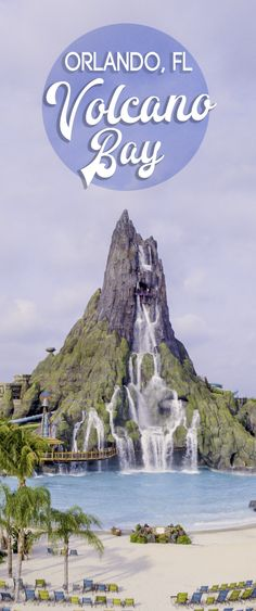 Universal Orlando's Volcano Bay is water theme park with 20+ water slides, a real sand beach, a massive 200+ foot volcano, island treats & drinks, and more. USA