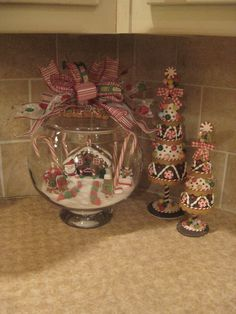 Country Christmas Decorating | Country Christmas Decor – Gingerbread Kitchen Accessories and
