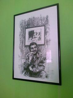 Ernesto Guevara,il Che. commissione privata.misure 50x70