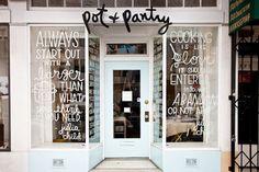 Retail Shop Inspiration: Window Signs