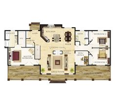Probably much too large for us at almost 1900sq ft but I really like the plan.