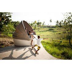 Dedon Orbit Sofainsel - hochwertige Outdoor Gartenmöbel von Dedon