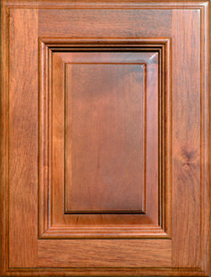 Austin Raised Panel Door with Applied Moulding   Available Material: Standard Wood Species Color Shown: Cocoa Finish on Alder Material Available in All Outside Profiles - Shown with Venice Outside Profile Raised Panel Doors, Face Framing, Custom Cabinetry, Moulding, Wood Species, Cabinet Doors, Color Show, Venice, Cocoa